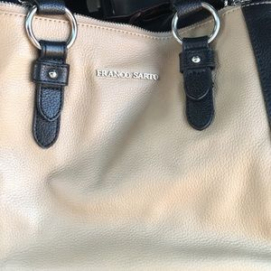 Authentic Franco Sarto leather purse